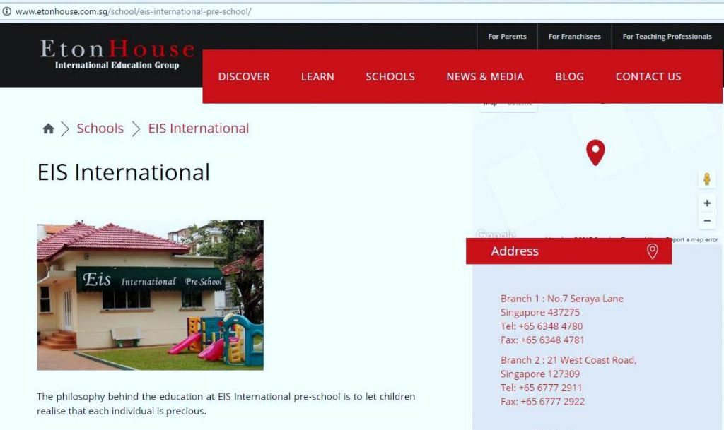 EIS International Pre School_at good class bungalow area