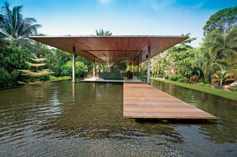 友和园的新加坡别墅