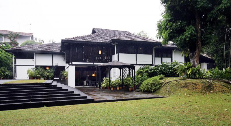 甘榜风格的新加坡洋房